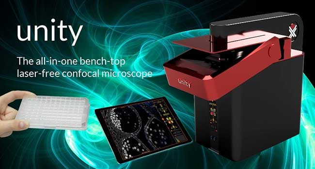 Laser-Free Confocal Microscope