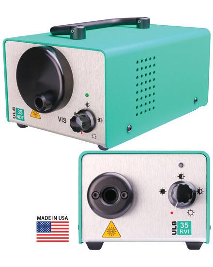 USHIO America Inc. - MIDORI rvi/ndt Fiber-Optic LED Light Source