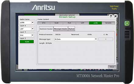 Handheld 5G Mobile Network Tester