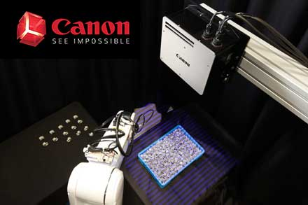 Canon 3D Machine Vision System