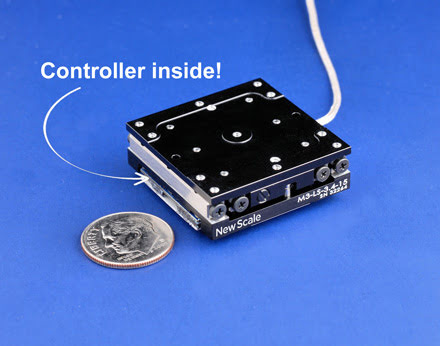 New Scale Technologies Inc. - Precision Microstage + Controller