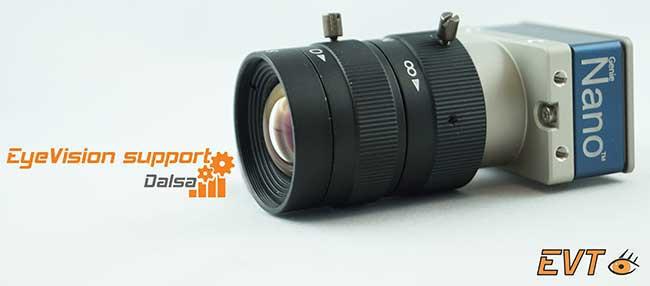 Machine Vision Software Camera Support