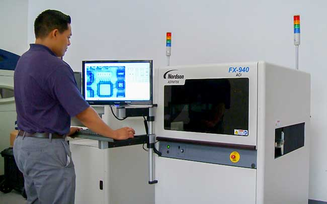 Automated Coating Inspection Line