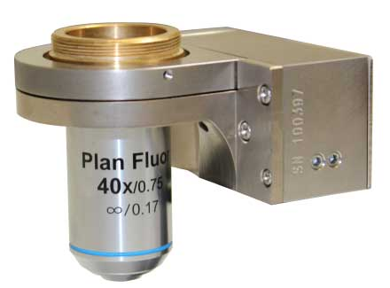 NanoScanOP400 Objective Positioner