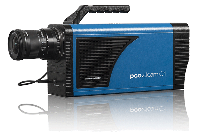 pco.dicam C1: intensified 16 bit sCMOS camera