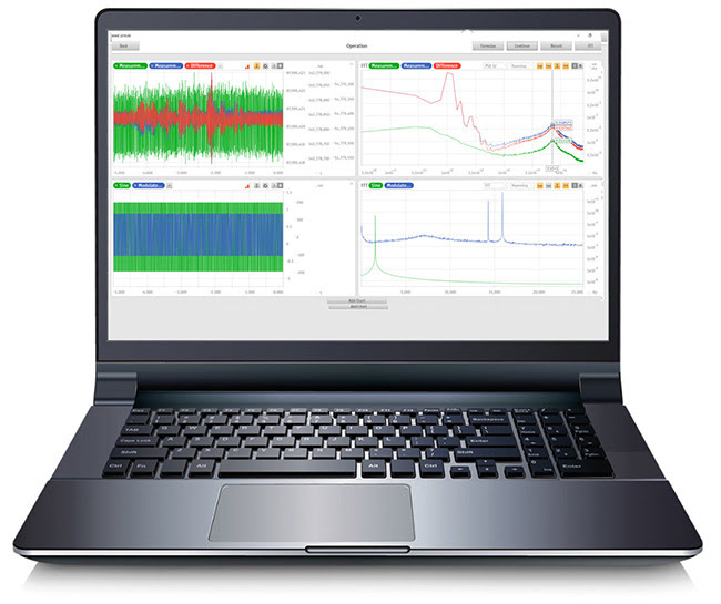 Laser Displacement Sensor Software