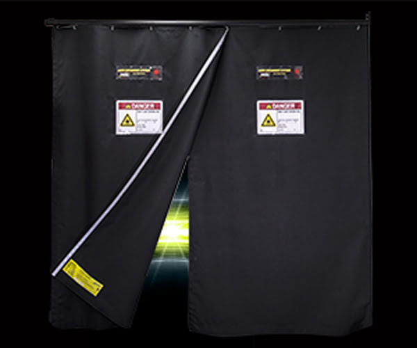 Kentek's Hi Vis Curtain Door