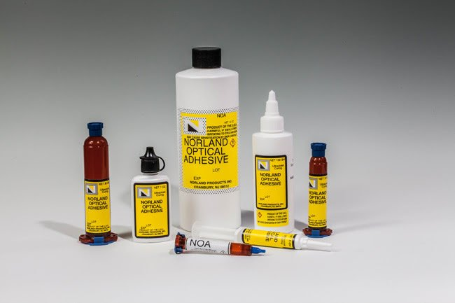 High & Low Refractive Index Adhesives