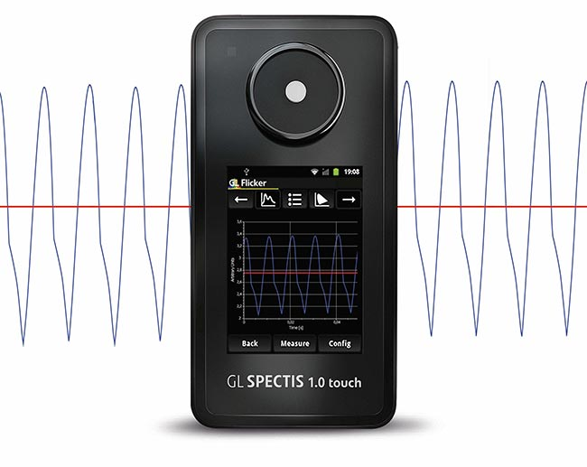 Touch Flicker Spectrometer