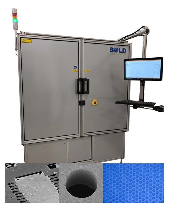 Laser Precision Drill
