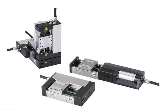 Products, L-505, linear stages, Physik Instrumente, positioning, motion, Americas