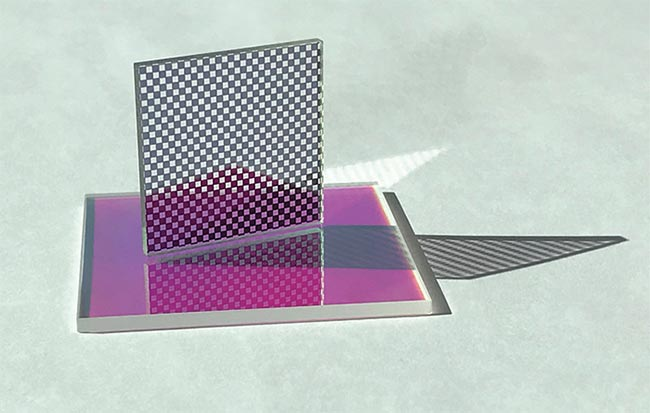 Patterned Thin-Film Optics