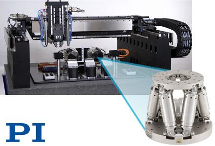 PI (Physik Instrumente) LP, Motion Control, Air Bearings, Piezo Mechanics - Gantries for 3D Print & Photonics Applications