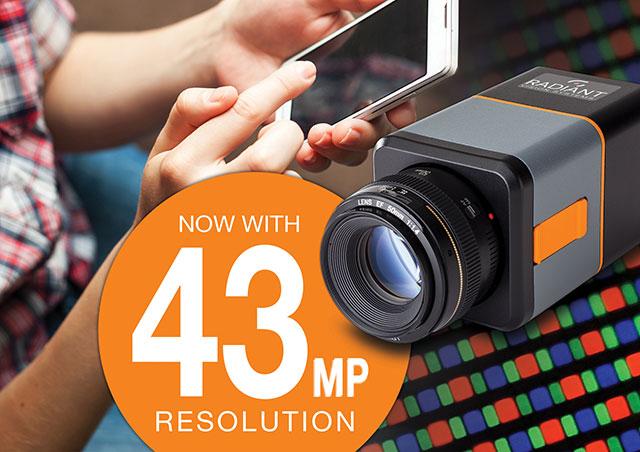 Radiant Vision Systems, Test & Measurement - 43-Megapixel Imaging Photometer