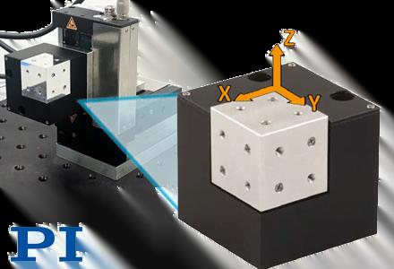 Compact XYZ Piezo Nanopositioning Stage