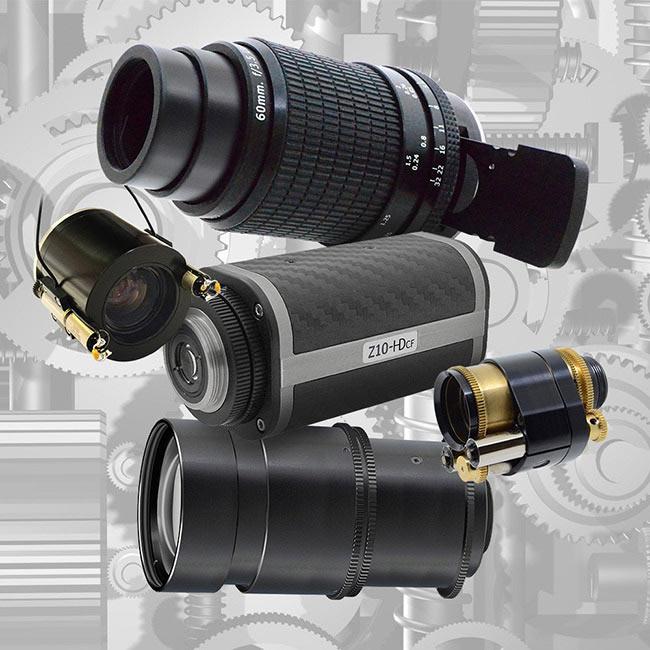 Focus Tracking Optical Zoom Lenses
