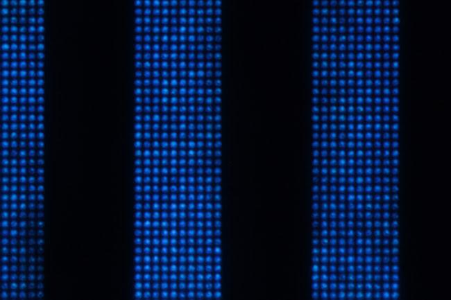 GaN-on-Si MicroLED Display