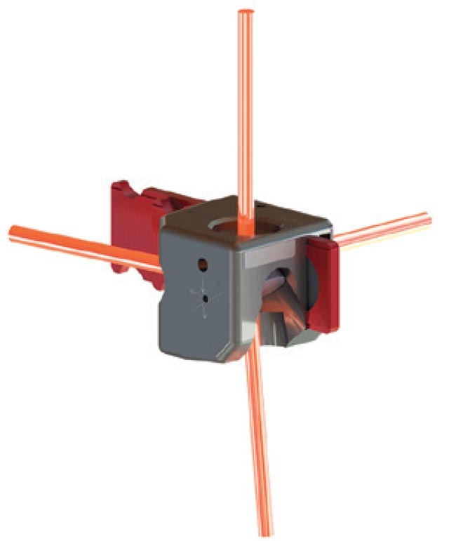 High-Attenuation Beam Splitter