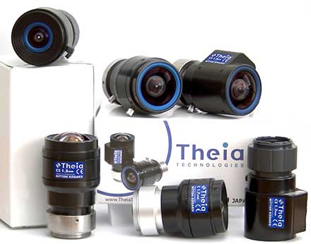 Theia Technologies - Theia's Ultra-Wide No Distortion Lenses