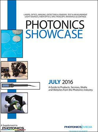 Photonics Showcase: July 2016