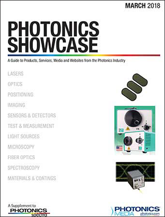 Photonics Showcase: March 2018