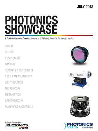 Photonics Showcase: July 2018