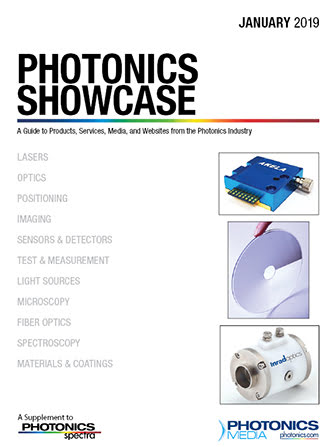 Photonics Showcase: January 2019
