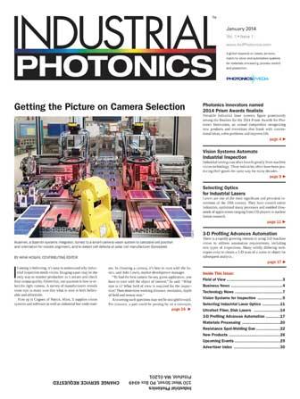 Industrial Photonics: January 2014