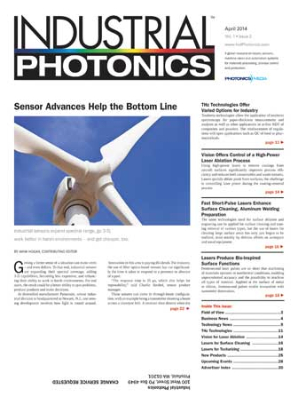 Industrial Photonics: April 2014
