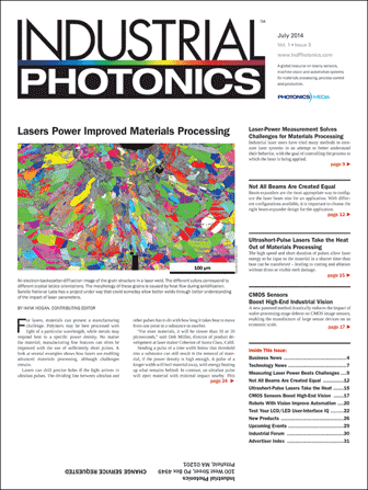 Industrial Photonics: July 2014
