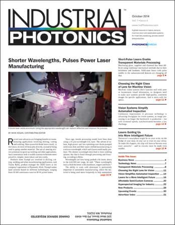 Industrial Photonics: October 2014