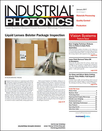 Industrial Photonics: January 2017