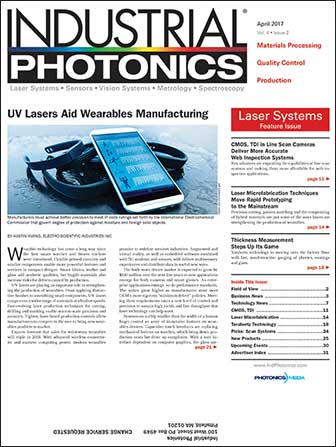Industrial Photonics: April 2017