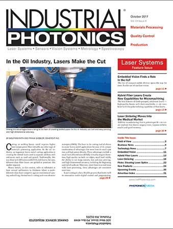 Industrial Photonics: October 2017