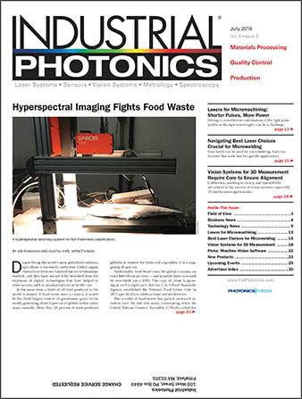 Industrial Photonics: July 2018