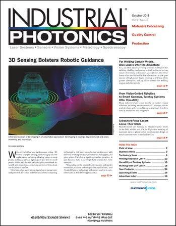 Industrial Photonics: October 2018
