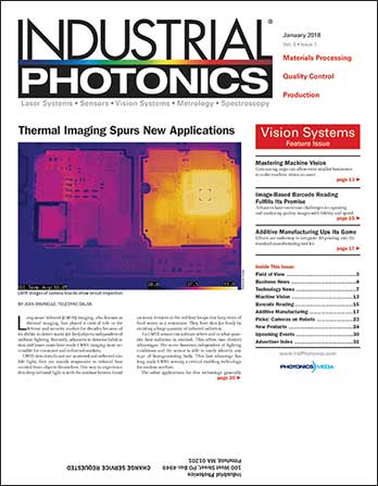 Industrial Photonics: January 2018