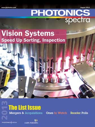 Photonics Spectra: August 2013