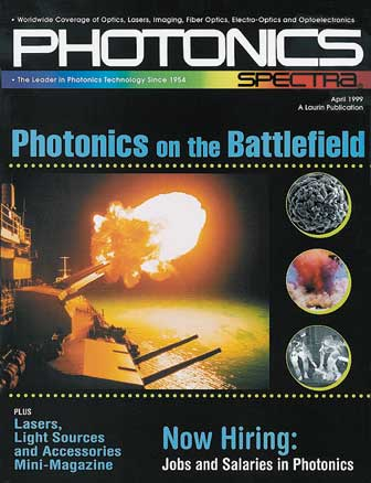 Photonics Spectra: April 1999