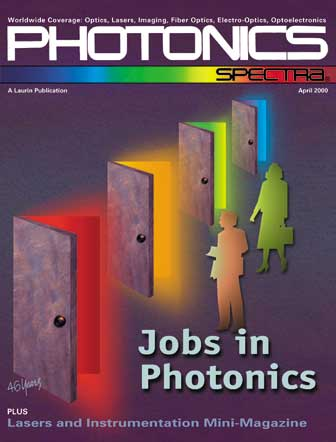 Photonics Spectra: April 2000