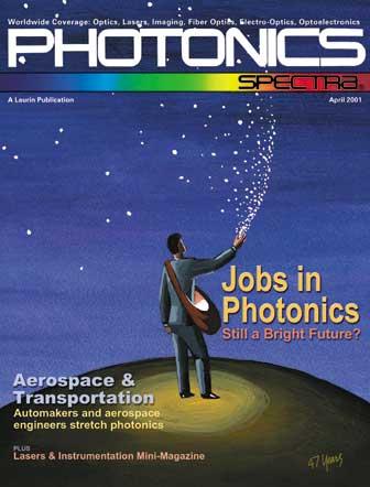 Photonics Spectra: April 2001