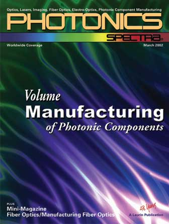 Photonics Spectra: March 2002