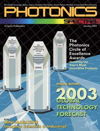 Photonics Spectra: January 2003