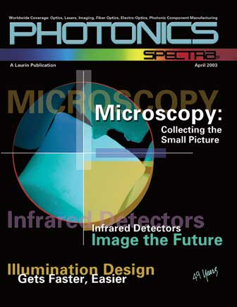 Photonics Spectra: April 2003