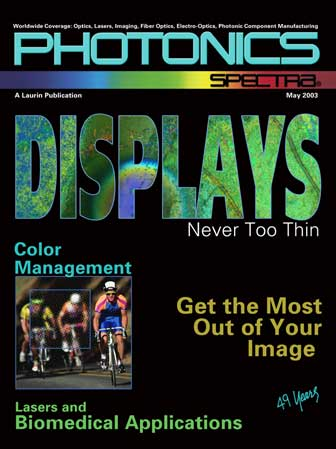 Photonics Spectra: May 2003