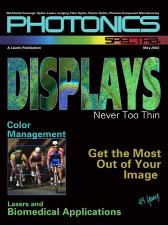 Photonics Spectra: May 2003