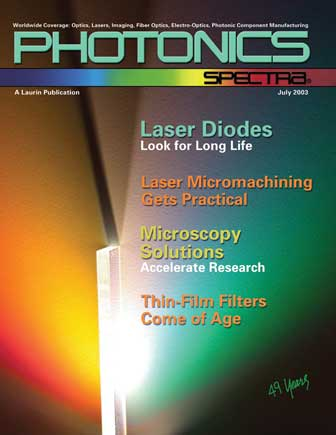 Photonics Spectra: July 2003