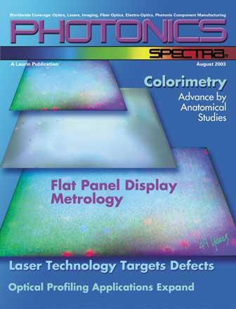 Photonics Spectra: August 2003
