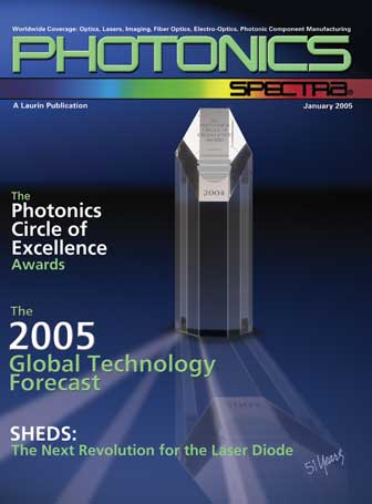 Photonics Spectra: January 2005