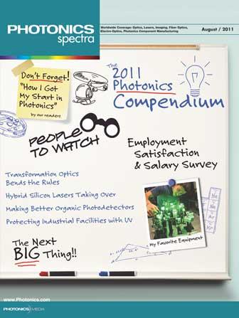 Photonics Spectra: August 2011